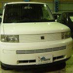 トヨタ bB アンテナ交換とドアロック修理