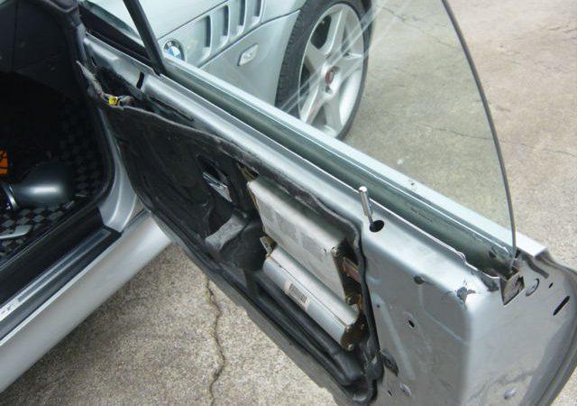 Z3 E36 Z3ロードスター 板金塗装つづき