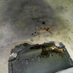 5シリーズ E39 525iMスポーツ エンジンオイル漏れ修理