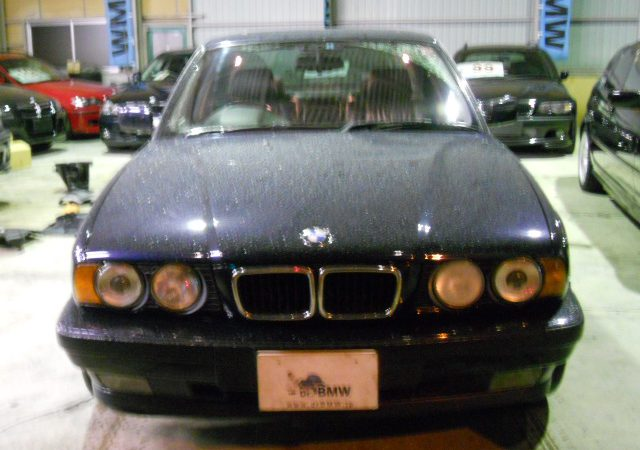 5シリーズ E34 525i ワイパーブレード交換