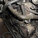 3シリーズ E46 318iMスポーツ ファンベルトの辺りから異音修理