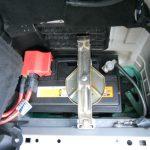 3シリーズ E46 318iツーリング バッテリ交換