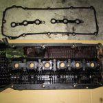 3シリーズ E46 325iツーリング エンジンオイル漏れ冷却水漏れ修理