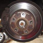 3シリーズ E46 318iツーリング ハイライン ブレーキ交換
