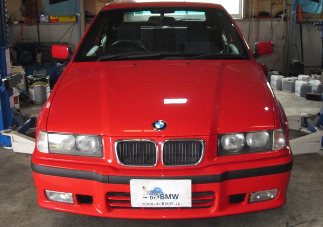 3シリーズ E36 318tiスポーツパッケージ 車検