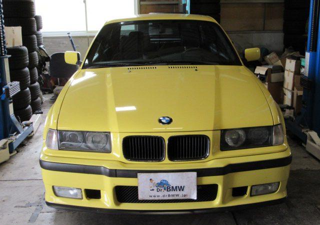 3シリーズ E36 318isスポーツパッケージ フロントブレーキ交換