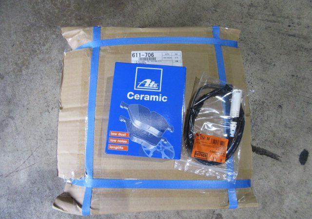 1シリーズ E88 120iMスポーツ リアブレーキ交換