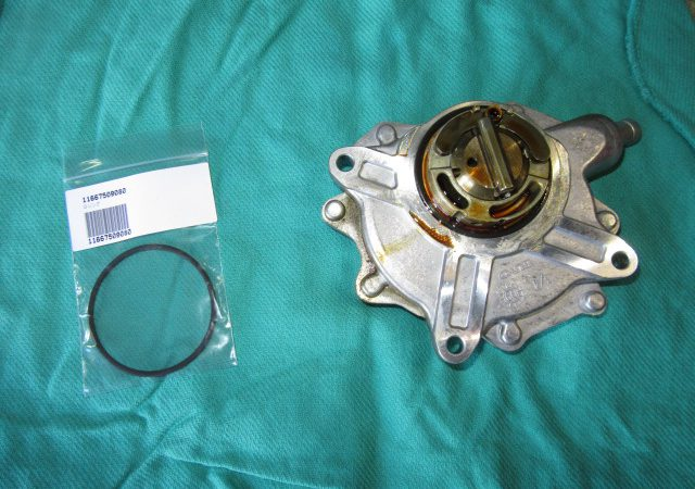 3シリーズ E46 318iツーリング エンジンオイル漏れ