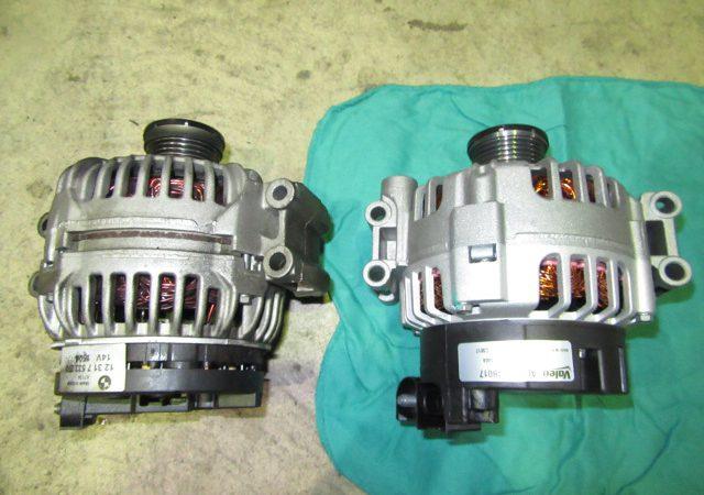 3シリーズ E46 318iツーリングMスポーツ オルタネータ交換