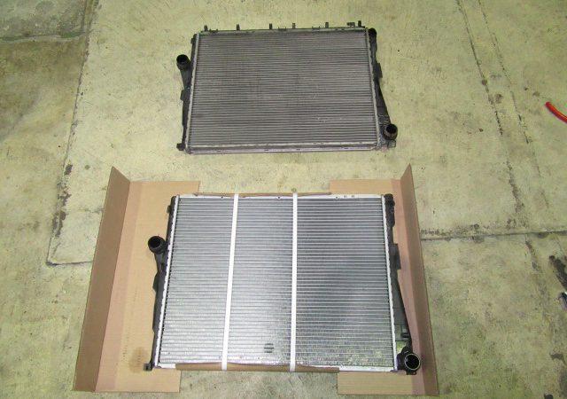 3シリーズ E46 318iMスポーツ 冷却水漏れラジエター交換