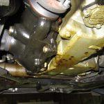 X3 E83 2.5iエンジンオイル漏れ