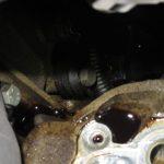 3シリーズ E46 318iツーリングMスポーツ オイル漏れ冷却水漏れ