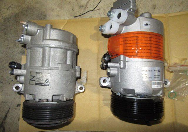 3シリーズ E46 316tiMスポーツ エアコンコンプレッサー交換