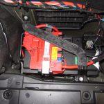 3シリーズ E91 325iツーリング バッテリ交換