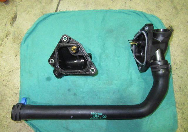 1シリーズ F20 116iMスポーツ 冷却水漏れ修理