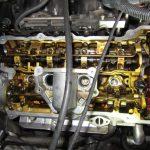 3シリーズ E90 320i エンジンオイル漏れ修理