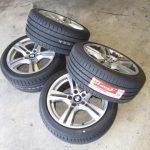X1 E84 18i S-DriveMスポーツ タイヤ交換