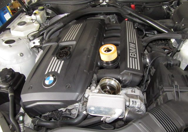 Z4 E89 Z4 23iエンジンオイルとオイルエレメント交換