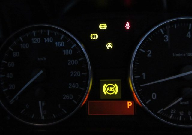 3シリーズ E91 325iツーリング Mスポーツ ABS DSC警告灯点灯