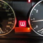 X1 E84 18i S-DriveMスポーツ タイヤ空気圧警告灯点灯