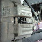 X1 E84 20iMスポーツ リアブレーキパッド交換
