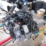 3シリーズ F30 320dMスポーツ エンジン交換つづき