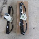 X3 E83 2.5siMスポーツ 左リアパワーウインドーレギュレータ交換