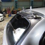 3シリーズ E91 320iツーリングMスポーツ リアガラス交換