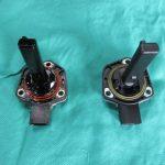 3シリーズ E90 320i エンジンオイルレベルセンサー交換