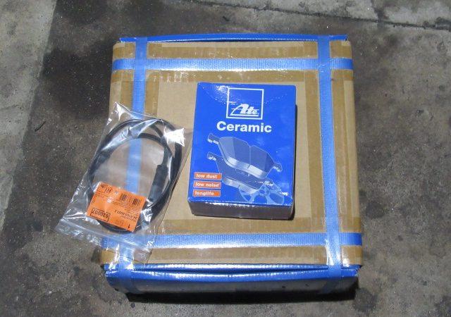 3シリーズ F31 320dツーリングラグジュアリー リアブレーキ交換