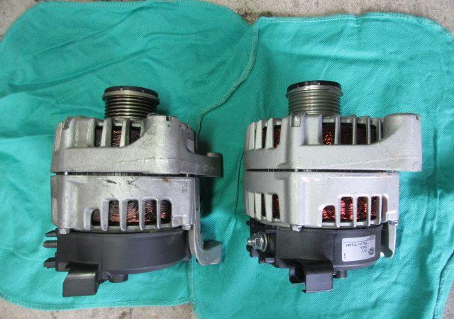 3シリーズ F30 320dラグジュアリー オルタネータ交換